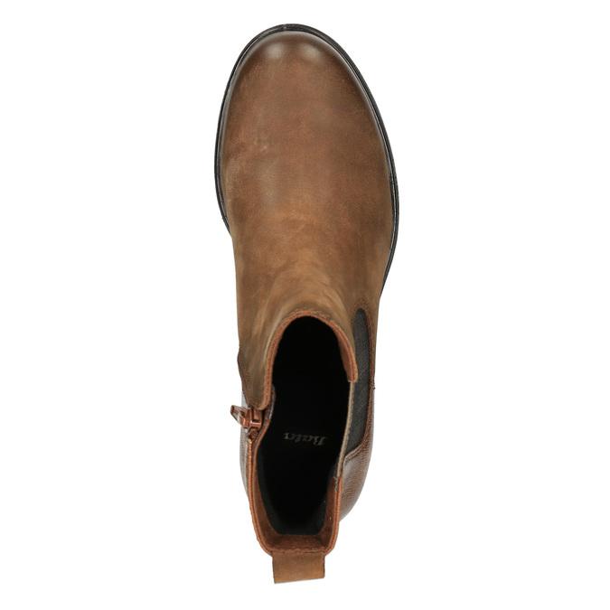 Ladies' ankle shoes bata, brown , 696-4606 - 19