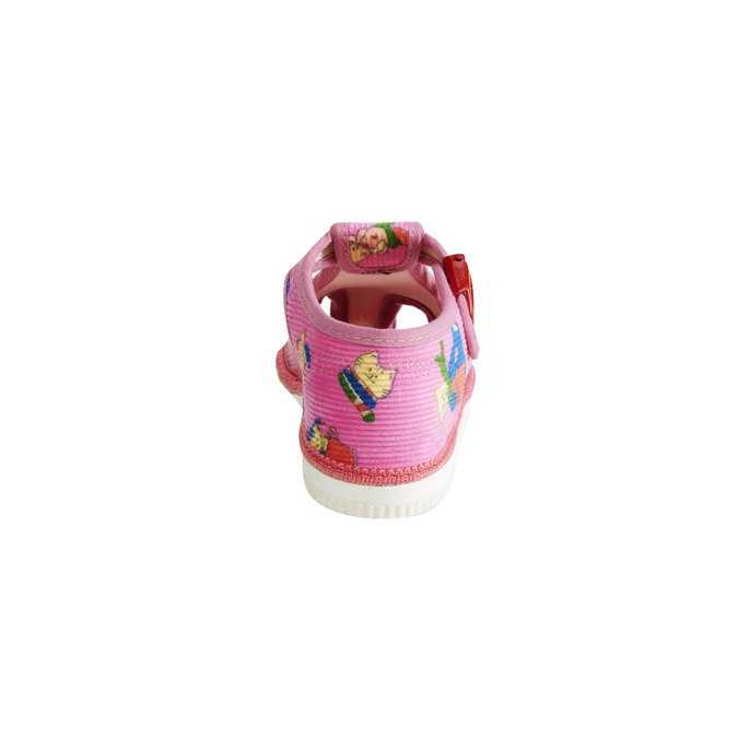 Children's home slippers bata, pink , 179-5210 - 17