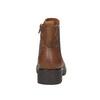 Ladies' ankle shoes bata, brown , 696-4606 - 17
