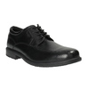 Black leather shoes rockport, black , 824-6106 - 13