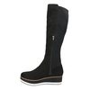 Ladies' flatform high boots bata, black , 699-6600 - 19