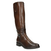 Ladies' leather Cossacks bata, brown , 596-3608 - 13