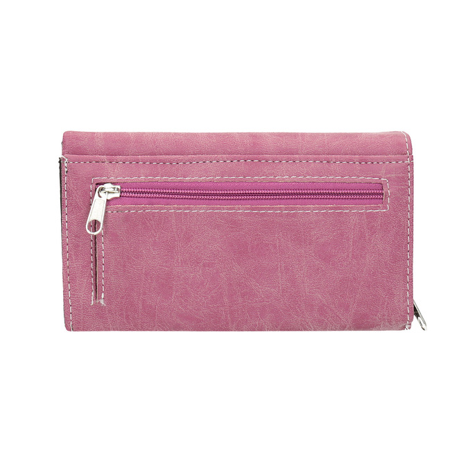 Stylish ladies' purse, pink , 941-5153 - 19