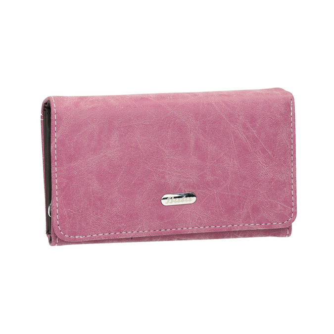 Stylish ladies' purse bata, pink , 941-5153 - 13