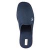 Men's slippers with full toe bata, blue , 879-9605 - 19