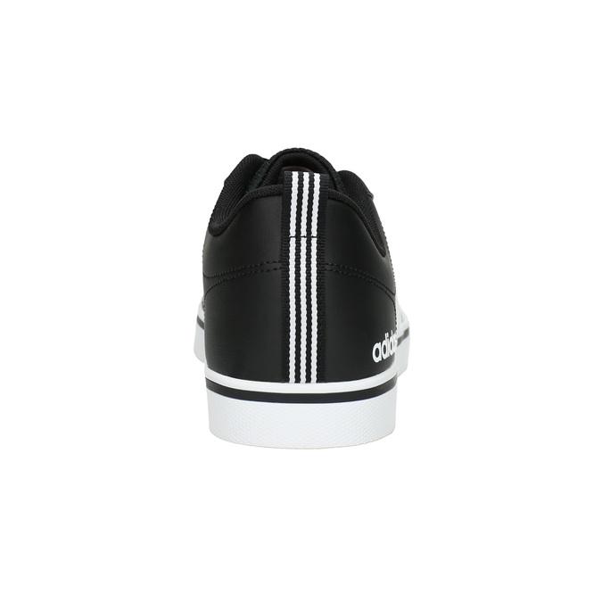 Men's casual sneakers adidas, black , 801-6136 - 17