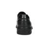 Men's leather moccasins, black , 814-6622 - 17