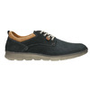 Casual leather shoes weinbrenner, blue , 846-9654 - 26