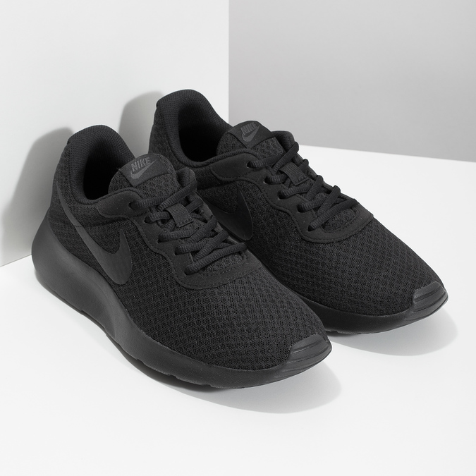 Men's black sneakers nike, black , 809-0557 - 26