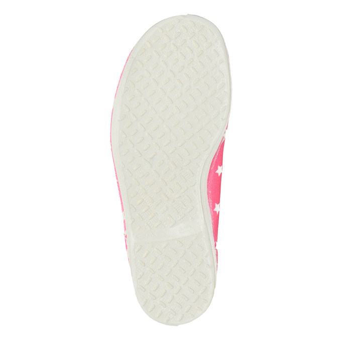 Children's Gym Shoes with Stars, pink , 379-5217 - 17