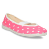 Children's Gym Shoes with Stars, pink , 379-5217 - 13