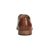 Men's thick-soled leather shoes bata, brown , 826-3809 - 15